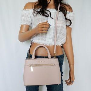 Michael Kors Hailee XS Satchel Bag Blossom Pink
